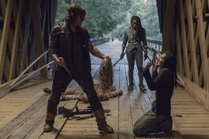 9x09 ~ Adaptation ~ Daryl, Michonne and Lydia