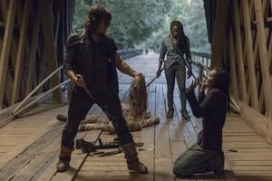 9x09 ~ Adaptation ~ Daryl, Michonne and Lydia