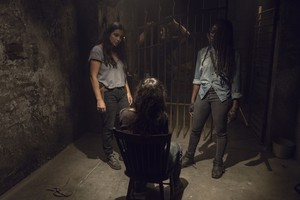 9x09 ~ Adaptation ~ Tara, Michonne, Lydia and Daryl