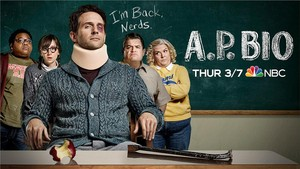 AP Bio - Season 2 Key Art