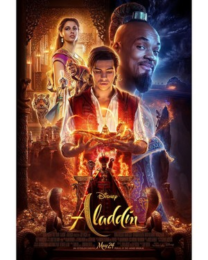 Aladdin (2019) - Poster