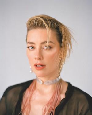 Amber Heard - Wonderland Photoshoot - 2019