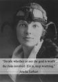 Amelia Earhart quote 🌺