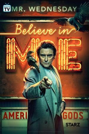 American Gods - Season 2 Poster - Believe in Me