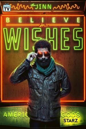 American Gods - Season 2 Poster - Believe in Wishes