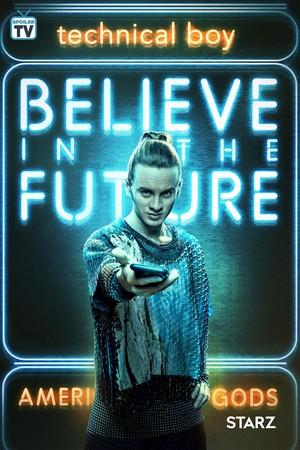 American Gods - Season 2 Poster - Believe in the Future