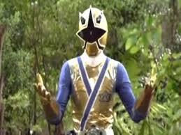 Antonio Morphed As The goud Samurai Ranger