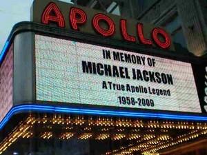 Apollo Tribute To Michael Jackson