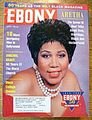 Aretha Franklin On The Cover Of Ebony