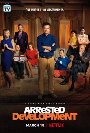 Arrested Development - Season 5B Poster - One murder. No masterminds.