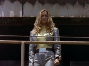 Ashley segundo Yellow Turbo Ranger and Yellow o espaço Ranger 3