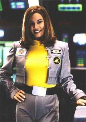Ashley một giây Yellow Turbo Ranger and Yellow không gian Ranger 4
