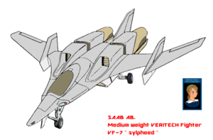Atmosphere VERITECH Fighter VF-7N sylpheed