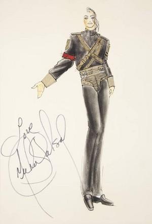Autographed Sketch Design