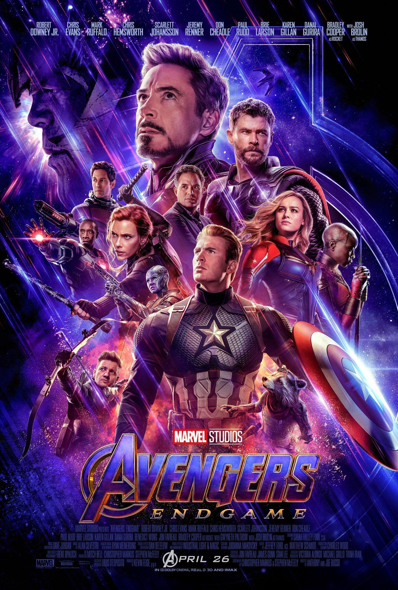 Poster Avengers Infinity War One Sheet