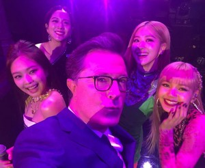BLACKPINK at The Late Show with Stephen Colbert