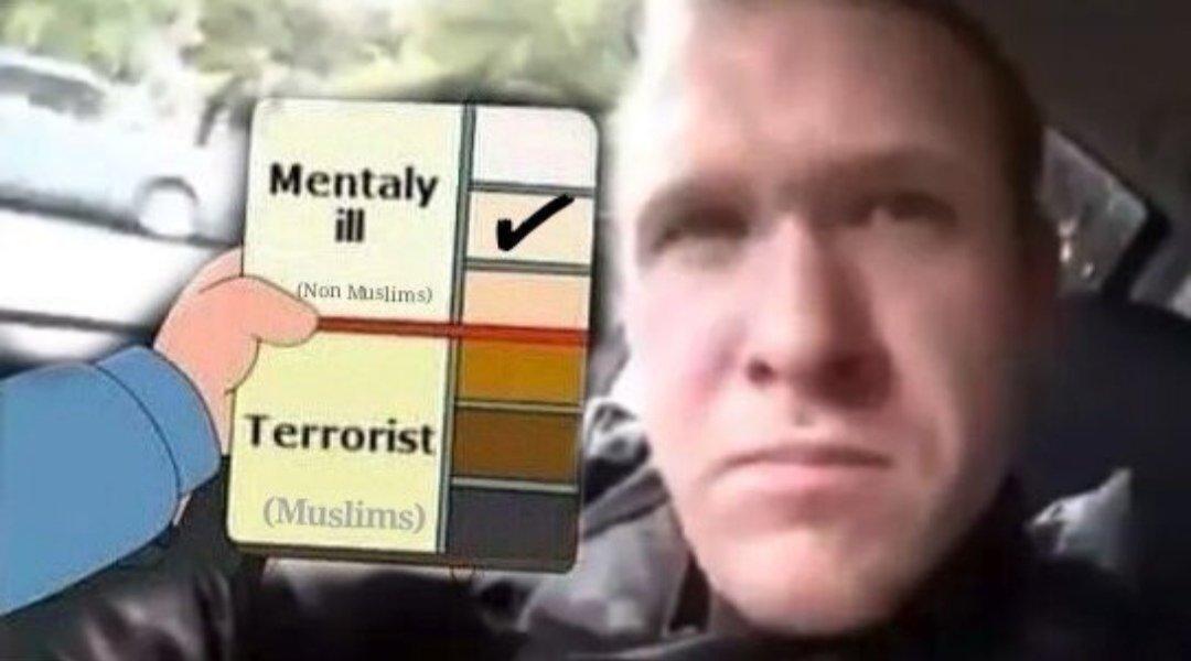 We R United Against Terrorism Images BRENTON TARRANT