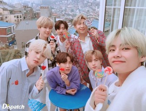 BTS x Dispatch Photoshoot