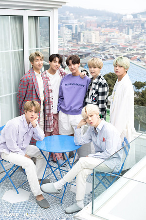 BTS x Dispatch Special White Tag