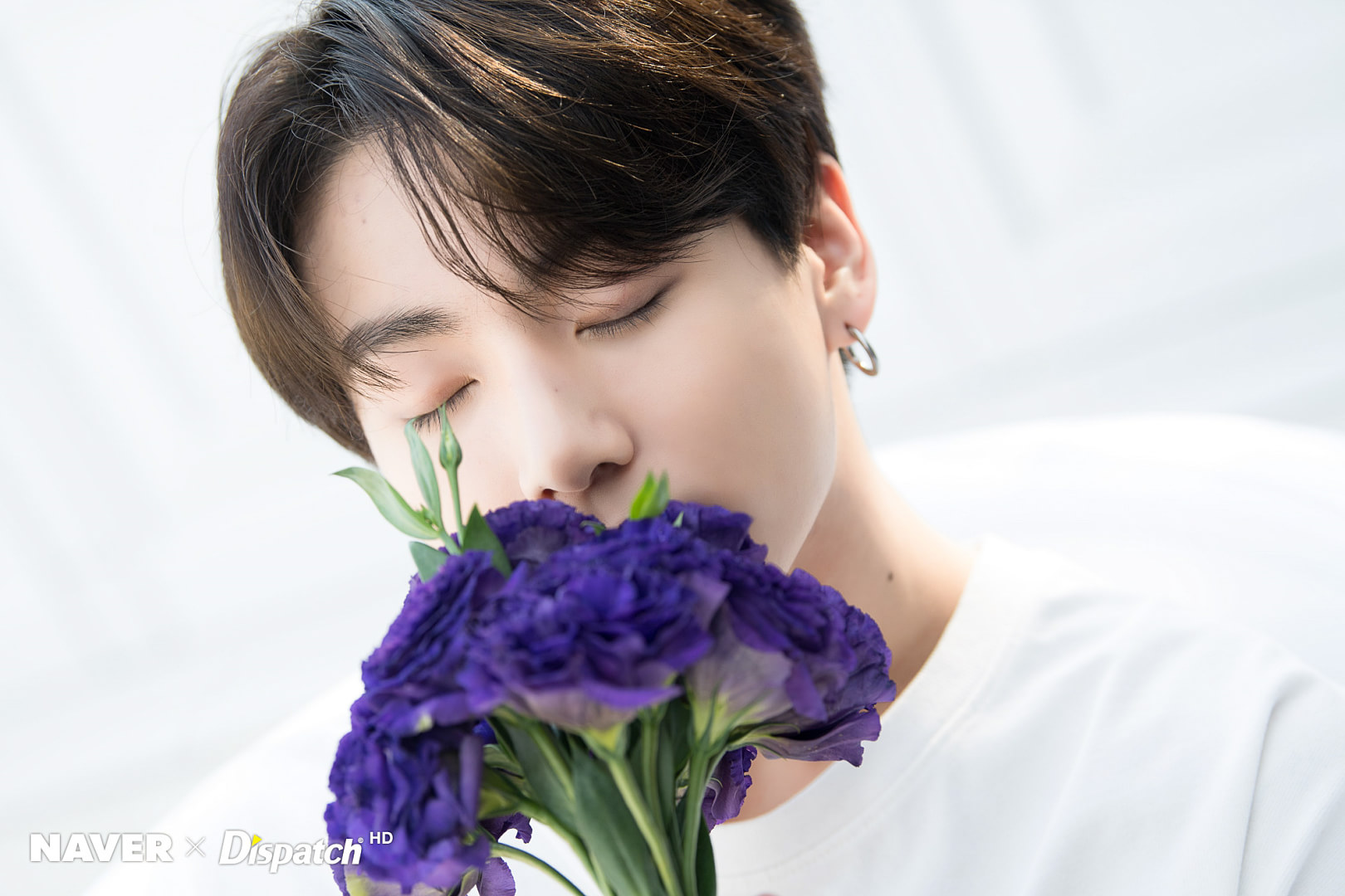 BTS x Dispatch Special White araw