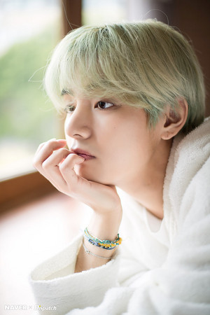 BTS x Dispatch Special White hari