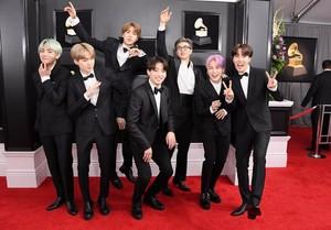 Bangtan boys(Grammys 2019)💖💖💖