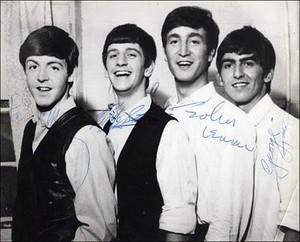 Beatles autograph