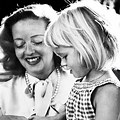 Bette Davis and Daughter