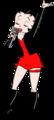 Betty Boop Anime Biker Render 1 - betty-boop photo