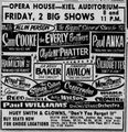 Biggest Show Of Stars 1958 Concert Tour Poster