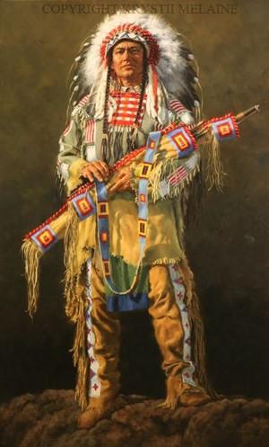 Brave Lakota By Krystii Melaine