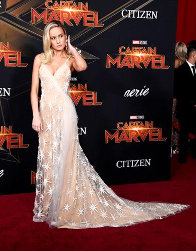 Marvel's Captain Marvel fond d'écran titled Brie Larson Captain Marvel World Premiere March 4, 2019