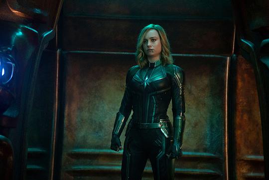 "Brie Larson as ""Carol Danvers"" in Captain Marvel"
