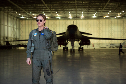"Marvel's Captain Marvel fond d'écran entitled Brie Larson as ""Carol Danvers"" in Captain Marvel"