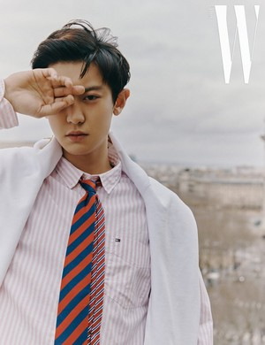 CHANYEOL W Korea April 2019 issue