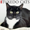 Calendar Pertaining To Tuxedo gatos