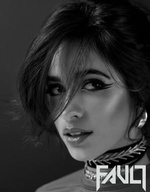 Camila for Fault Magazine (2017)