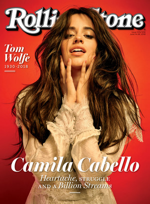 Camila for Rolling Stone (2018)
