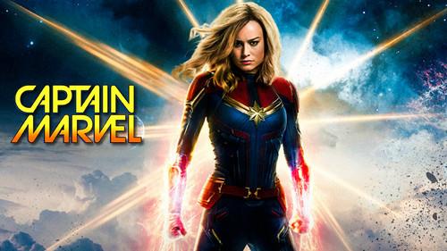 Marvel's Captain Marvel achtergrond called Captain Marvel (2019)