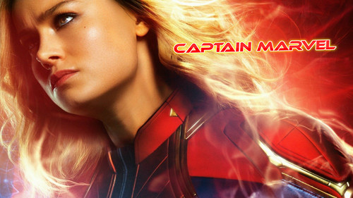 Marvel's Captain Marvel fond d'écran entitled Captain Marvel (2019)