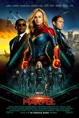 Marvel's Captain Marvel achtergrond entitled Captain Marvel (2019)