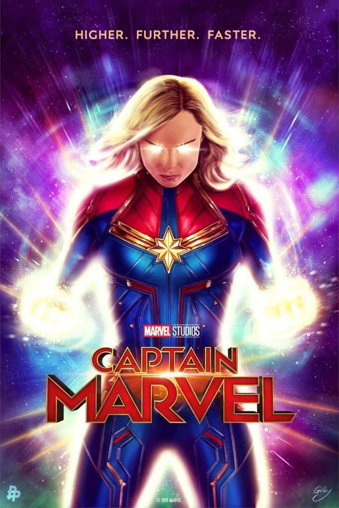 Captain Marvel Poster Marvel S Captain Marvel Photo 42666866 Fanpop