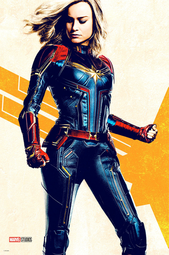 Marvel's Captain Marvel achtergrond called Captain Marvel posters