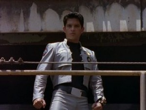 Carlos detik Green Turbo Ranger and Black luar angkasa Ranger 3