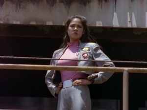 Cassie Second Pink Turbo Ranger and Pink Space Ranger 3