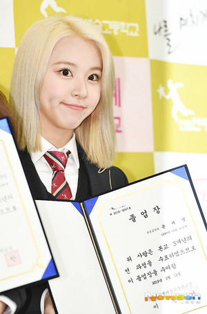 Chaeyoung Graduation
