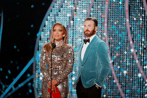 Chris Evans and Jennifer Lopez 91st annual Academy Awards (2-24-19)