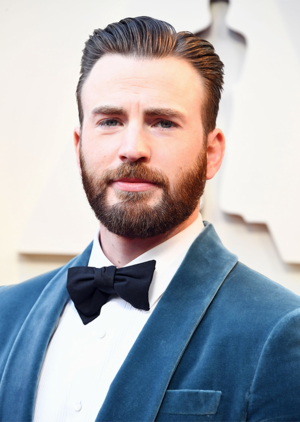 Chris Evans at the 2019 Academy Awards February 24, 2019