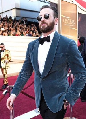 Chris Evans at the 2019 Academy Awards ~February 24, 2019