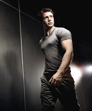 Chris Evans by James Dimmock for Men's Health